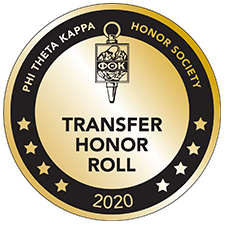 Phi Theta Kappa Honor Society 2018 honor roll